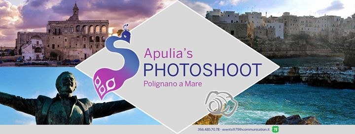 Apulia's Photoshoot sbarca a Polignano a Mare